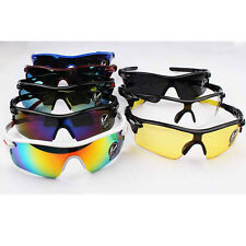1x Outdoor Sport Cycling Bike Riding Sun Glasses Eyewear Goggle UV400 Lens CGE