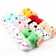 Newborn Baby Anti-Slip Socks Slipper Shoes Boots 0-12 Month Cartoon Shoes Cute