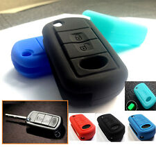 Silicone Case Cover For LAND ROVER LR2 Range Rover Discovery 3 4 Key Fob Remote
