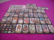 Topps Basketball Card Set 1971 Trios stickers NBA Set