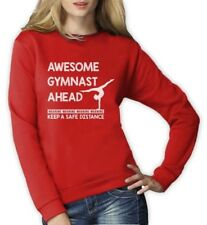 Warning! Awesome Gymnast Ahead - Athletic Girls Gift Women Sweatshirt Gymnastics