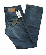 STYLE CLASH ENERGIE CONNELLY DESIGNER BLUE DENIM JEANS BY SIXTY ITALY. RRP. £95