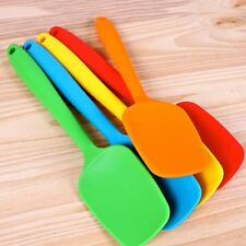 Silicone Baking Tool Cake Cream Butter Spatula Mixing Batter Scraper Brusher
