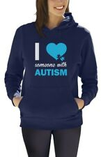 Autism Awareness - I Love Someone With Autism Women Hoodie Support