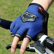 Men's Outdoor Sports Antiskid Racing Cycling Bicycle Soft Gel Half Finger Gloves