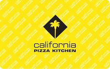 California Pizza Kitchen Gift Card - $25 $50 $100 - Email delivery