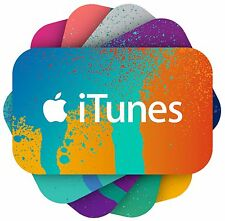 iTunes Codes - $25 $50 or $100 - Email Delivery