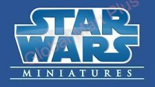 Star Wars Masters of the Force Miniatures Figurines Game Wizards of the Coast