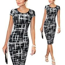 Lady Celebrity Wear To Work Bodycon Women's Office Work Formal Pencil Dress