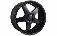 SIMMONS FR20-1 Satin Black finish 5x120 +43 Offset
