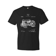 Ford Tractor T-Shirt Mens Vintage Patent Art