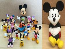 Disney Toy Figure Plastic Mickey Mouse Donald Duck Pluto Minnie Cake Decorations
