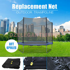 New Replacement Outdoor Trampoline Safety Net Enclosure 8ft 10ft 12ft 14ft 16ft