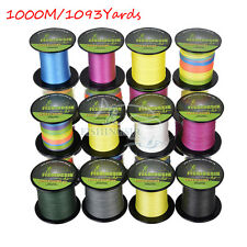 1000M/1093Y Extreme PE Dyneema Braided Sea Fishing Line 100% Spectra 12-120LB