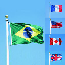 3x5 feet Country Banner National Flag Pennants USA Canada Brazil France UK Hot