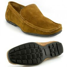 Mens stylish smart casual slip on flat summer loafers driving shoes, Moccasins