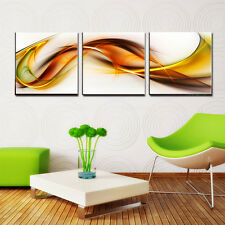 ABSTRACT ready to hang set of 3 digital wall art print/better than canvas prints