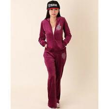 Womens Hoodie Jacket Pants Set New Velour Tracksuit Tracks Sweatsuit Sweatpants