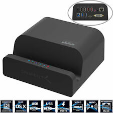 Sabrent USB 3.0 Universal Docking Station with Stand for Tablets(DS-RICA)