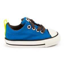 Infants Converse Chuck Taylor Street Slip On Electric Blue Trainers