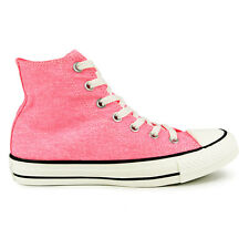 Womens Converse All Star Hi Neon Pink Trainers