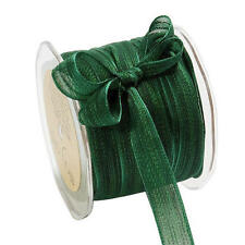 May Arts 14mm Sheer Iridescent Mesh Ribbon - 2m