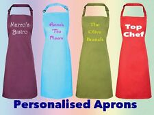 Custom Printed Personalised Aprons Design your own, Gift, Business