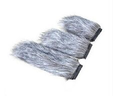 12/18/22cm Windshield Mic Fur Muff Zoon for Microphone Reduce Wind Noise