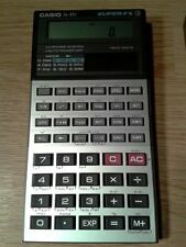 Vintage CASIO FX-85V SUPER-FX Scientific Calculator With Case (Solar Powered)