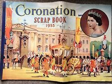 Vintage Original Queen Elizabeth 'Coronation Scrap Book 1953'