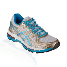 Asics - Gel Kayano 20 Running Shoe - White/Island Blue/Electric Melon