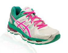 Asics - Gel Kayano 21 Running Shoe - White/Hot Pink/Emerald