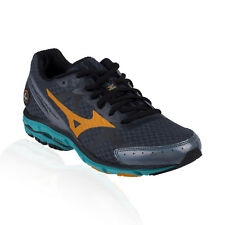 Mizuno - Wave Rider 17 Running Shoe - Dark Slate/Bright Marigold/Columbia