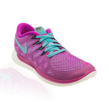 Nike - Free 5.0 Running Shoe - Fuchsia Flash/Clearwater/White