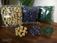 12 Bunches 144 Flowers Paper Artificial Rose Flowers Craft Scrapbook Card Making