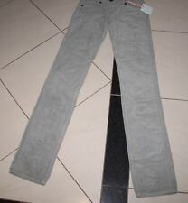 NEW SASS AND BIDE FRAYED MISFITS CORD JEANS GREY SIZE 24 TO FIT SIZE 6 RRP $200