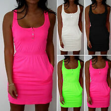 S-5XL Sexy Womens Bodycon Dress Ladies Summer Sleeveless Bandage Strap Long Tops