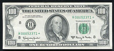 1963-A $100 ONE HUNDRED DOLLARS *STAR* FRN FEDERAL RESERVE NOTE