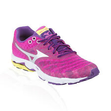 Mizuno - Wave Sayonara Running Shoe - Electric/Silver/Purple Magic