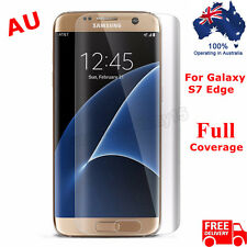 Full Screen Curved Clear Protector Film Cover For Samsung Galaxy S7 Edge /S7