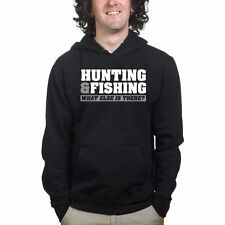 Hunting Fishing Tackle Bait Rod Carp Fly Fisherman Sweatshirt Hoodie