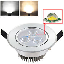 CREE 3W Dimmable LED Recessed Ceiling Spotlight Cabinet Down Lamp with Driver