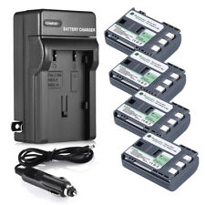 NB-2LH NB-2L Replace Battery for Canon Rebel XT XTi PowerShot G7 G9 S50 +Charger