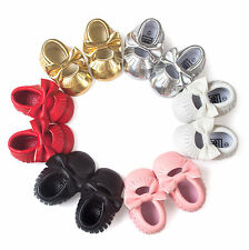 Gold Moccasin Tassel Bow Cutout Design Baby Shoes Princess Shoes Baby Shoes
