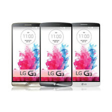 3 Colors! NEW LG G3 D855 16GB/32GB GSM 3G 4G Android Unlocked Smart Mobile Phone