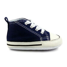 Baby Converse First Star Navy Crib Trainers