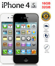 Original Apple iPhone 4S GSM 100% Factory Unlocked Black White