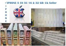 NEW CONDITION IN SEALED BOX APPLE IPHONE 4S 5 5c 5S 16 GB &32GB UNLOCKED WARANTY