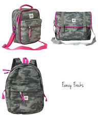 GAP KIDS Girls Camo SR Backpack Messenger Bag OR Lunch Box, NEW, Tote