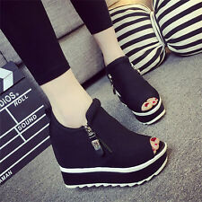 Womens Shoes Super High Platform Wedge Sport Sandals Fashion Sneakers Creepers